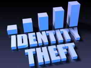 identity theft rising bar chart