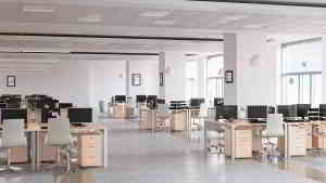 empty business office