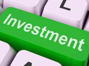 investment sign