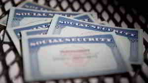 social security cards in pile