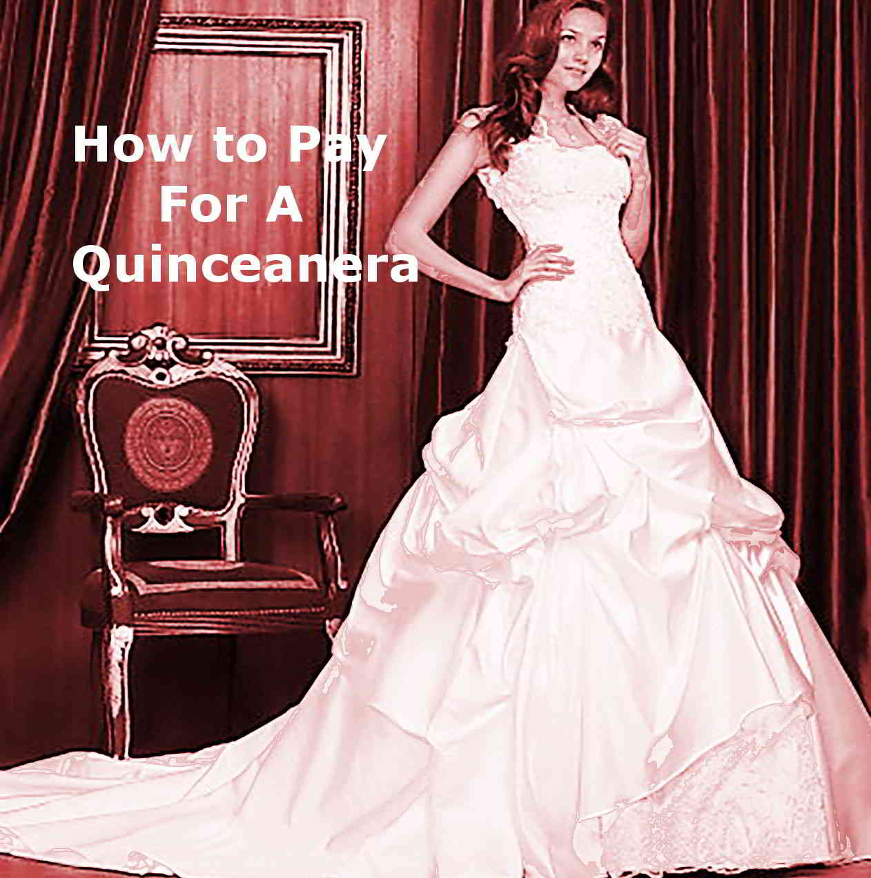 how to pay for a quinceanera